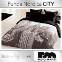 Juego de Funda Nórdica CITY de Reig Martí