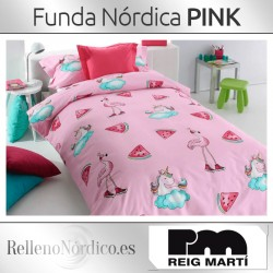 Juego Funda Nórdica Pink de Reig Martí