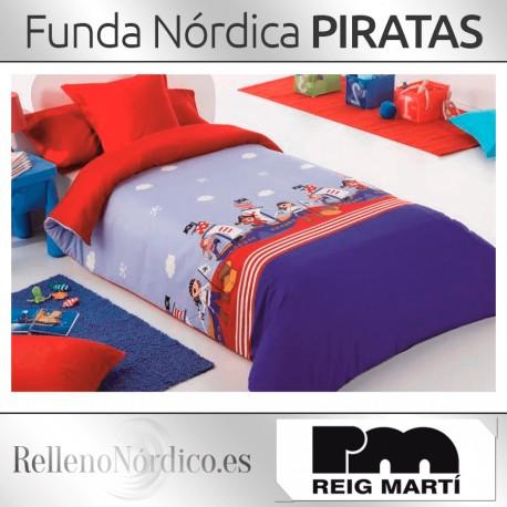 Juego Funda Nórdica Piratas de Reig Martí