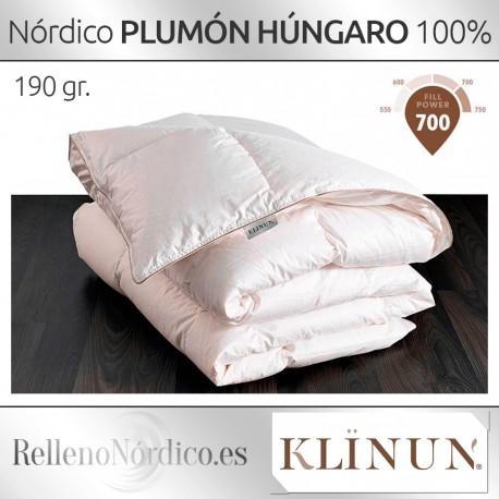 Edredón Nórdico 100% Plumón de Oca Húngara de Klinun