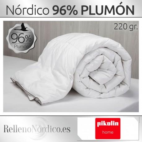 Relleno Nórdico de Plumón de oca Pikolin Home 96%
