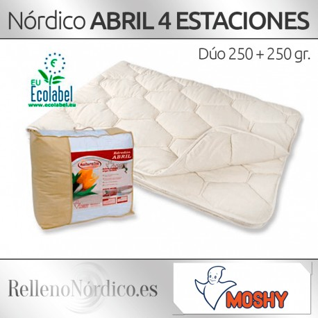 Relleno Nórdico Abril 4 Estaciones de Moshy