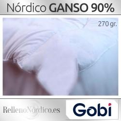 Nórdico GANSO 90% Plumón 270 gr de Gobi (Ferdown)