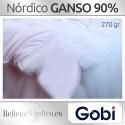 Relleno Nórdico GANSO 90% Plumón de Gobi (Ferdown)