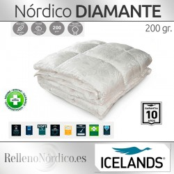Nórdico Plumón DIAMANTE Icelands