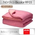 Relleno Nórdico BICOLOR Reversible 300 gr RF03 de Pikolin Home