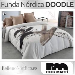 Juego Funda Nórdica DOODLE de Reig Martí