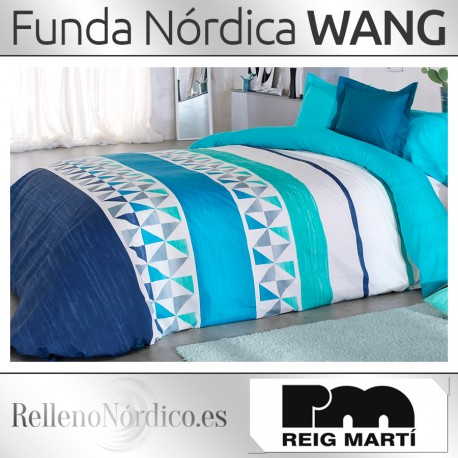 Juego Funda Nórdica WANG de Reig Martí