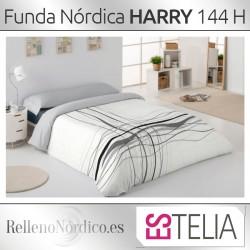Juego Funda Nórdica 100% Algodón HARRY de Es-tela