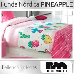 Juego Funda Nórdica PINEAPPLE de Reig Martí