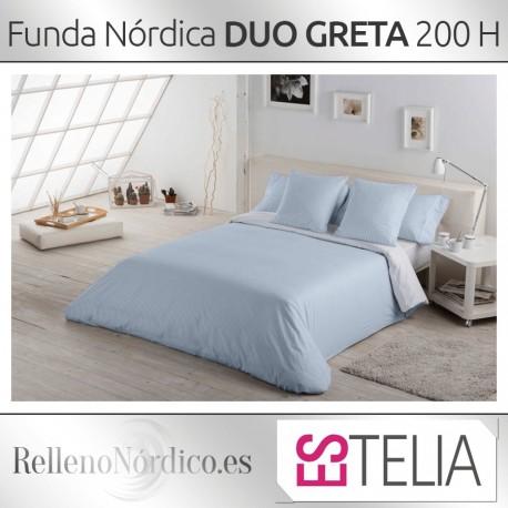 Juego Funda Nórdica DUO GRETA de Es-Tela