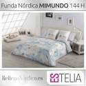 Juego Funda Nórdica MIMUNDO de Estelia