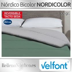 Nórdico de Fibra Bi-color Velfont Nordicolor