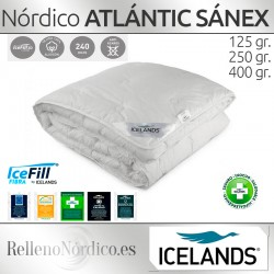Nórdico Fibra ATLANTIC SANEX de Icelands 400 gr Cama 180 OUTLET
