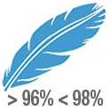 Nórdicos con entre el 96% y el 98% de plumón