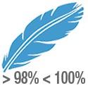 Rellenos con más del 98% de plumón