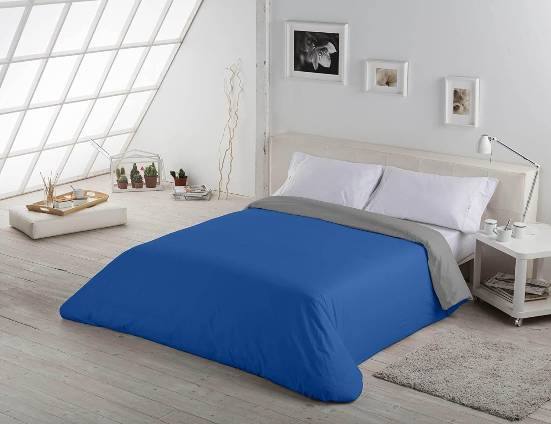Liso Bicolor Azulón