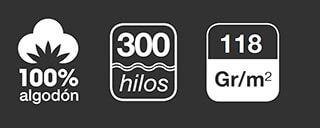 fundas nordicas de 300 hilos