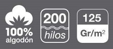 fundas nordicas de 200 hilos