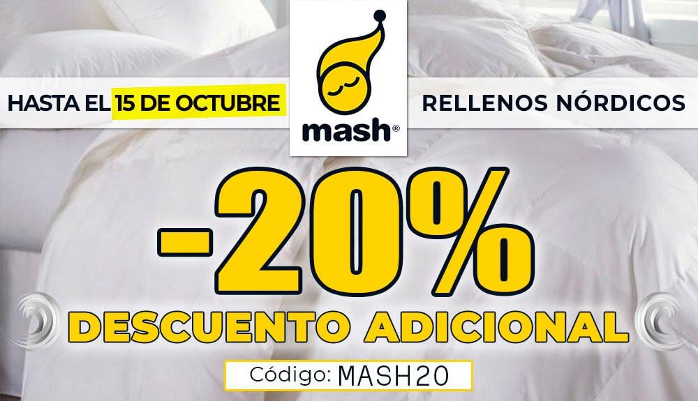 20% Descuento Adicional MASH